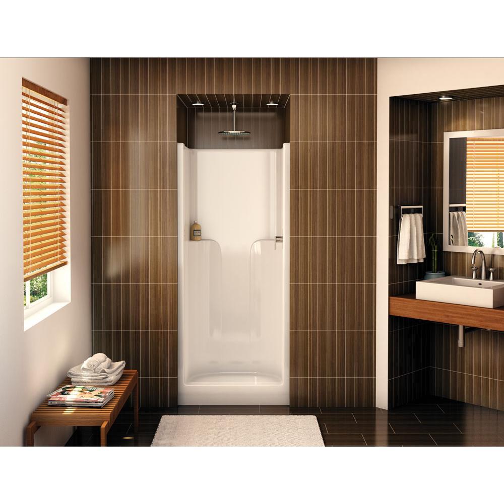 Aker Bathroom Shower Enclosures White | SPS Companies, Inc ...