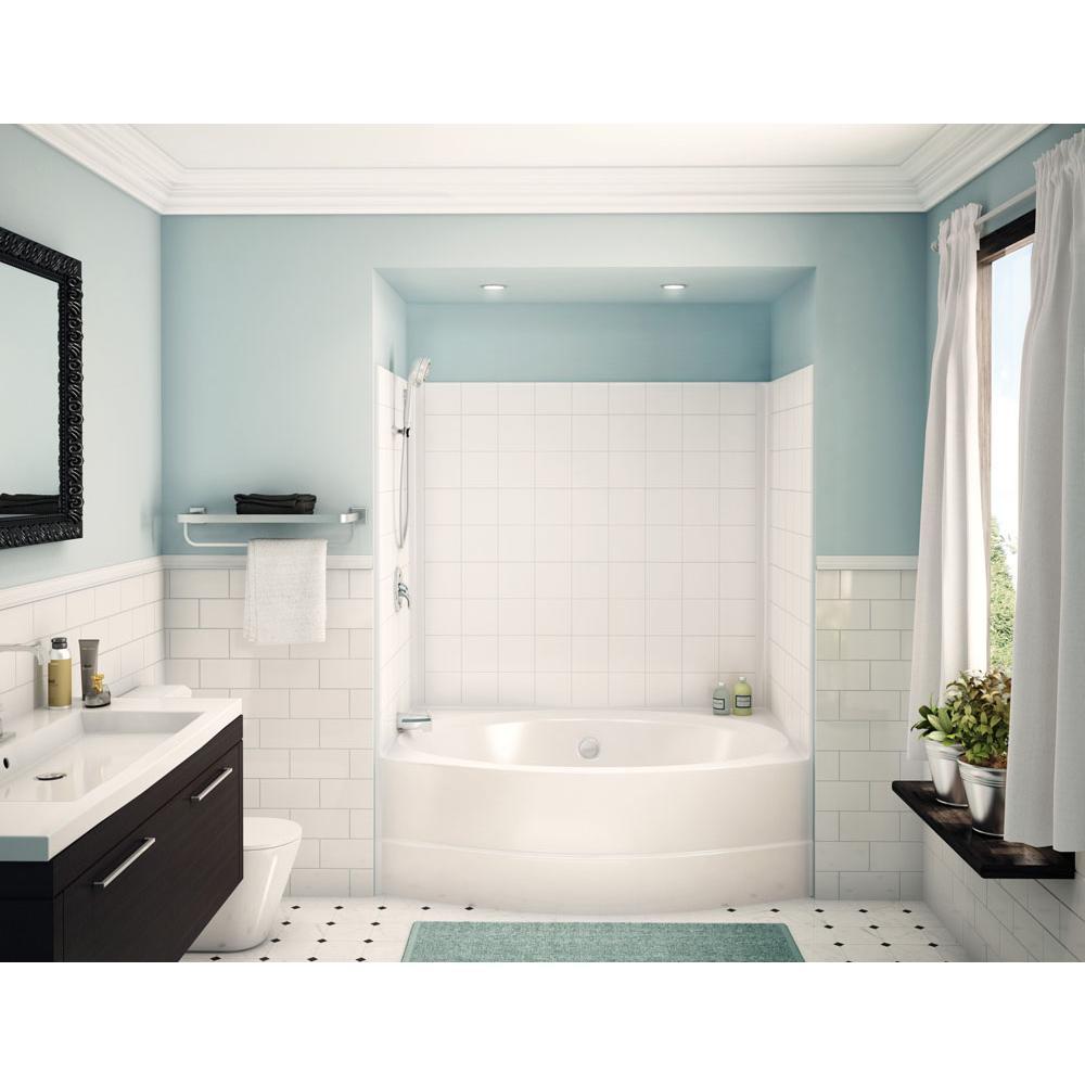Aker Bathroom Showers White Bone   SPS Companies, Inc. - Bismarck ...