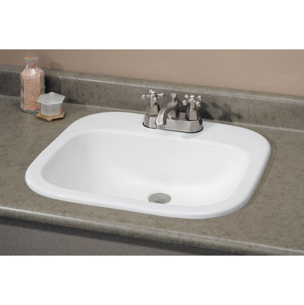Cheviot Products Drop In Bathroom Sinks item 1108-WH-4