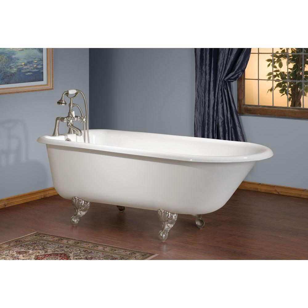 Cheviot Products Clawfoot Soaking Tubs item 2093-WC-7-WH