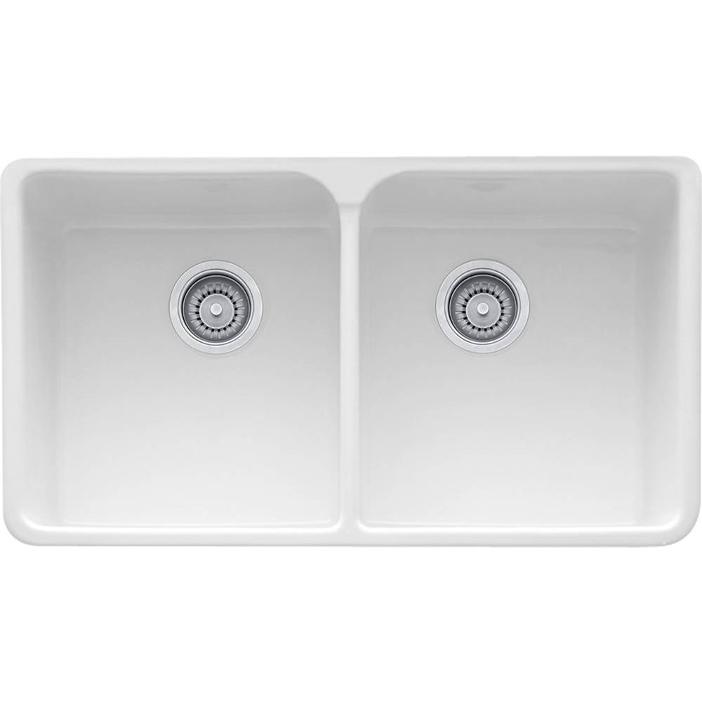 Franke Undermount Kitchen Sinks item MHK720-35WH