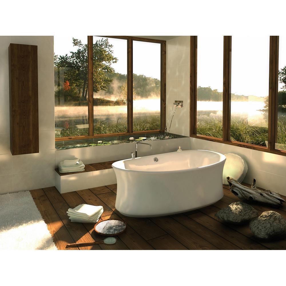 Maax Bathroom Soaking Tubs Free Standing White | SPS Companies, Inc ...