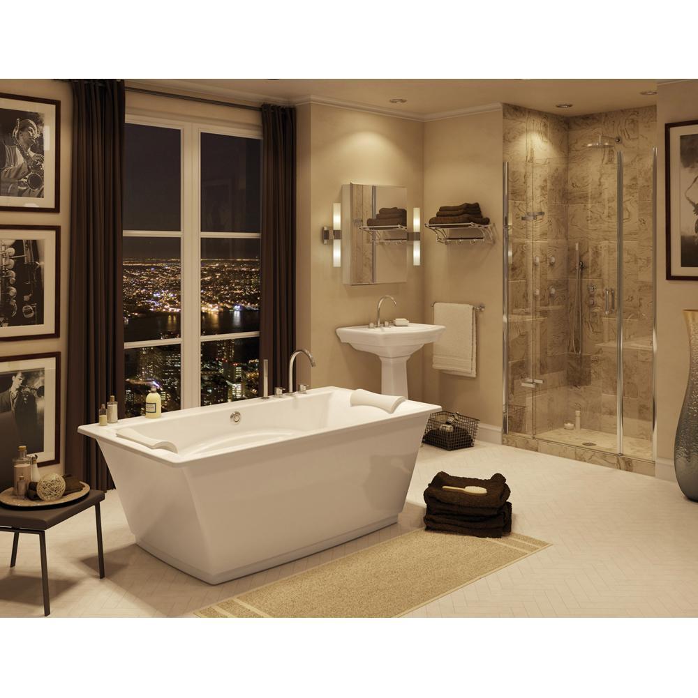 Maax Bathroom Soaking Tubs Free Standing White   SPS Companies, Inc ...