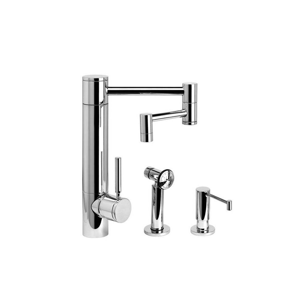 Waterstone Single Hole Kitchen Faucets item 3600-12-2-MB