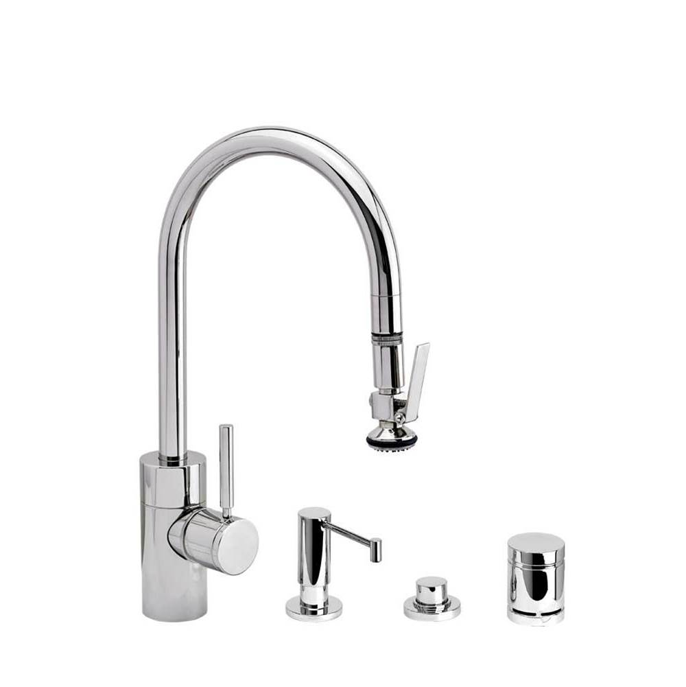 Waterstone Deck Mount Kitchen Faucets item 5800-4-ABZ