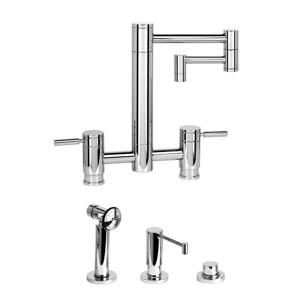 Waterstone Bridge Kitchen Faucets item 7600-12-3-SS
