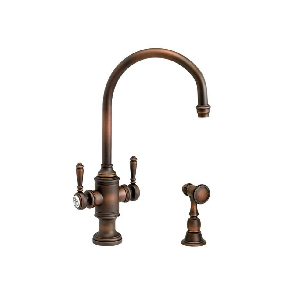 Waterstone Single Hole Kitchen Faucets item 8030-1-TB