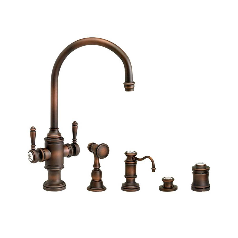 Waterstone Single Hole Kitchen Faucets item 8030-4-AC